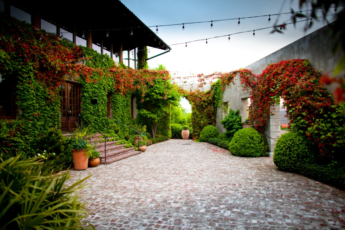 The courtyard at Summerour Studio; photo: Matt Ackerman