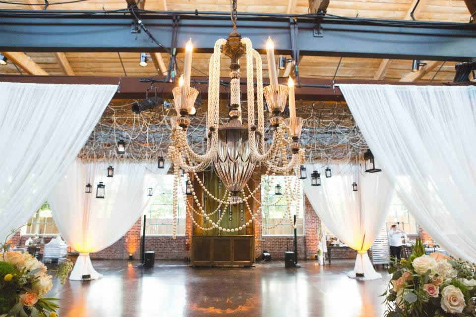 Inventive décor at The Foundry at Puritan Mill