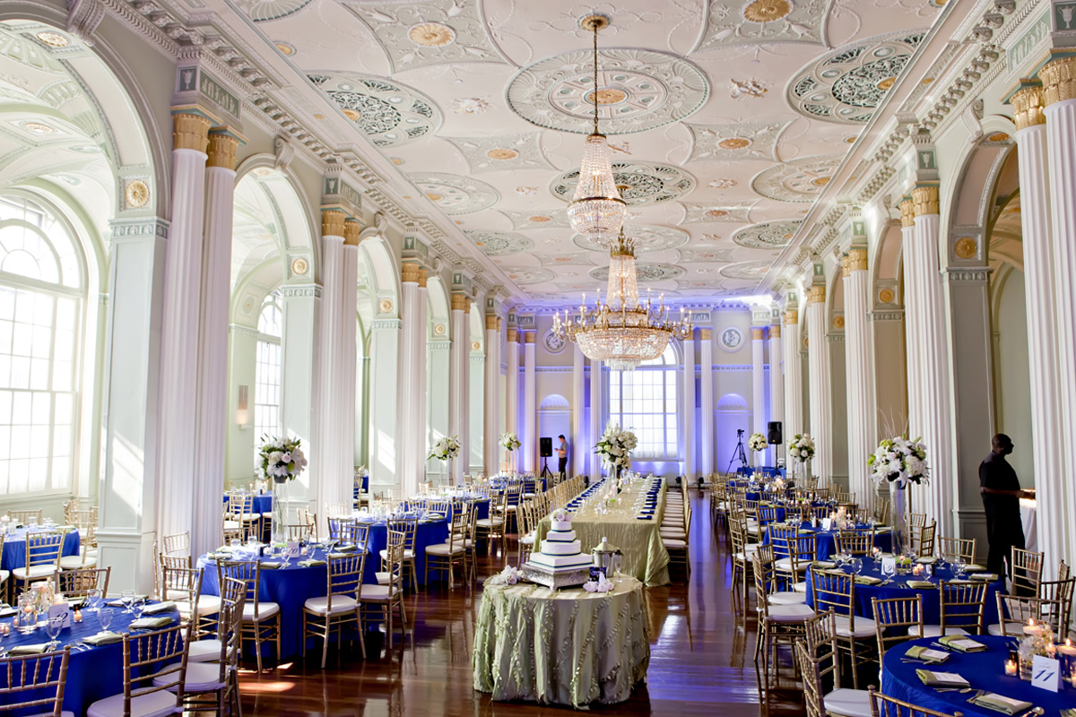 The Georgian Ballroom. Photo: Milanés Photography